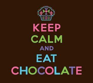 Обои на телефон шоколад, спокойствие, ешь, keep calm