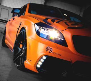 Обои на телефон колеса, скорость, оранжевые, новый, мускул, мерседес, гоночные, бенц, автомобили