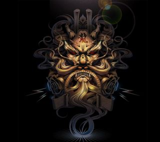 Обои на телефон иллюстрации, цветные, розы, дракон, japon, dragon
