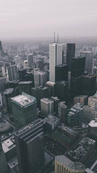 Обои на телефон здания, небо, город, sky scraper