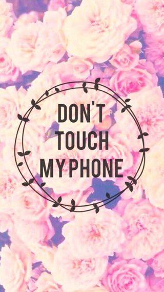 Обои на телефон трогать, не, телефон, мой, высказывания