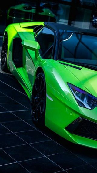 Обои на телефон тюнинг, авентадор, машины, ламборгини, зеленые, lamborghini, green aventador