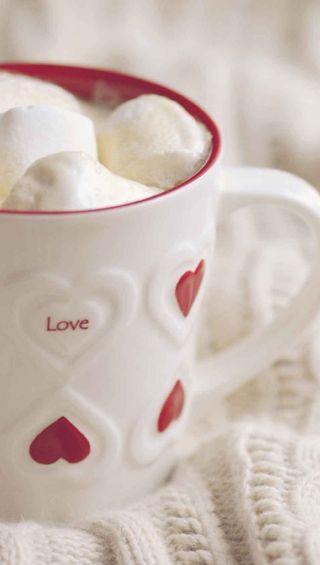 Обои на телефон чашка, сердце, любовь, love, cup
