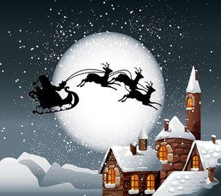 Обои на телефон праздник, снег, санта, рождество, приятные, новый, зима, snow man, santa clause