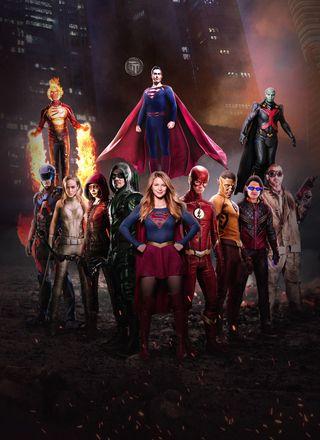 Обои на телефон герои, тв, комиксы, tv shows, the heros of dc tv