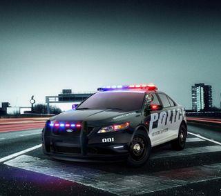 Обои на телефон полиция, форд, ford