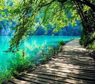 Обои на телефон природа, прекрасные, озеро, удивительные, путь, пейзаж