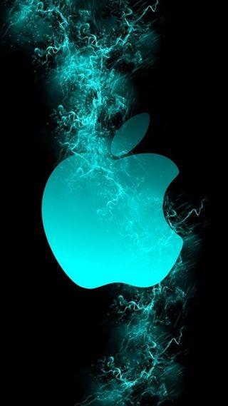 Обои на телефон дым, эпл, логотипы, apple