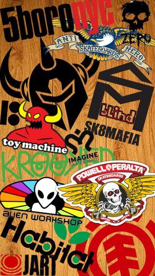 Обои на телефон art, skates, underground, логотипы, арт, бренды, скейт