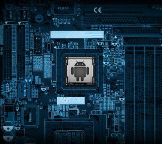 Обои на телефон цпу, робот, микросхема, дроид, логотипы, компьютер, гугл, андроид, motherboard droid, google, android