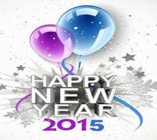 Обои на телефон счастливые, праздник, новый, 2015