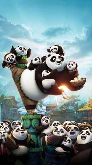 Обои на телефон панда, любовь, классные, love, kung fu panda, 2016