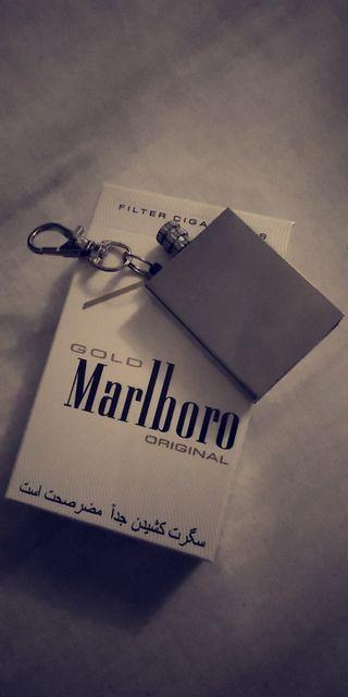 Обои на телефон сломанный, повредить, zippo, marlboro, cigarettes