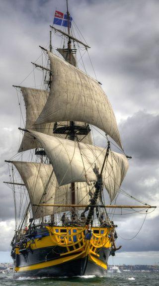 Обои на телефон корабли, линии, деревянные, wooden ship, ship of the line, gallion