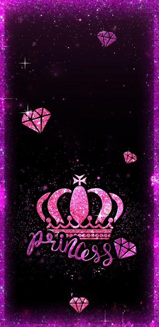 Обои на телефон принцесса, сверкающие, розовые, корона, бриллианты, блестящие, pinkprincess