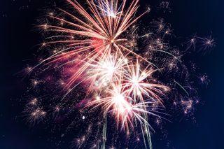 Обои на телефон фейерверк, новый год, взрыв, абстрактные, firework explosion