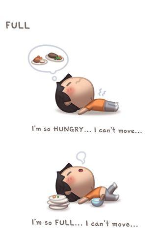 Обои на телефон move, i cant move, hungry, full, cant