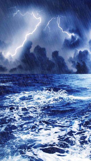 Обои на телефон шторм, фото, природа, пейзаж