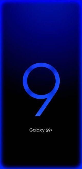 Обои на телефон светящиеся, синие, самсунг, грани, галактика, samsung, s9, plus, galaxy