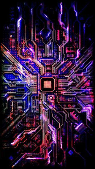 Обои на телефон электронный, электроника, цветные, технология, технологии, техно, наука, микросхема, компьютер, techno color, led, information