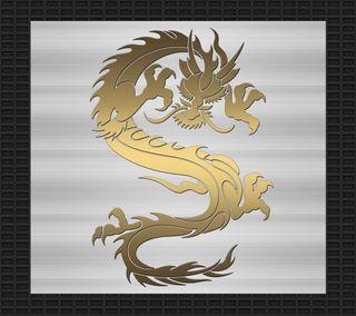 Обои на телефон племенные, черные, тату, стальные, серебряные, золотые, дракон, дизайн, арт, dragon, art
