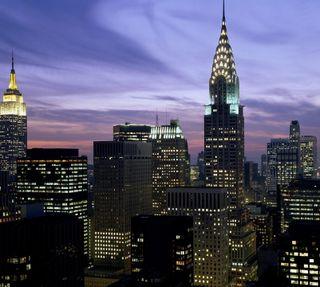Обои на телефон нью йорк, новый, манхэттен, йорк, империя, new york 2, empire state, chrysler