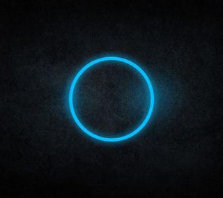 Обои на телефон формы, светящиеся, неоновые, круги, абстрактные
