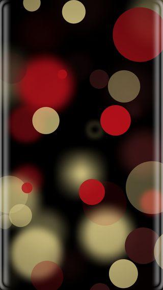 Обои на телефон точки, красочные, грани, боке, абстрактные, s7 edge, s7