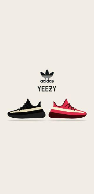 Обои на телефон обувь, yeezy