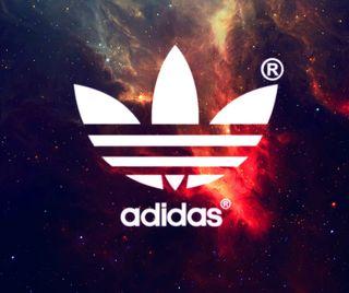 Обои на телефон галактика, логотипы, бренды, адидас, galaxy, adidas