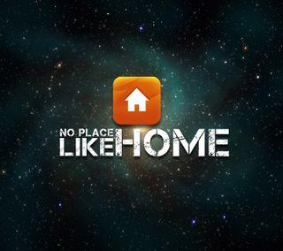 Обои на телефон поговорка, оранжевые, космос, кнопка, дом, no