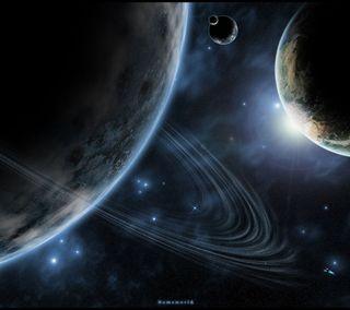 Обои на телефон планета, космос, вселенная