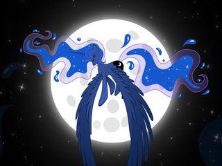 Обои на телефон пони, свет, принцесса, мой, маленький, лунный, луна, mlp, lunar light, alicorn