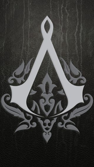 Обои на телефон логотипы, крид, ассасин