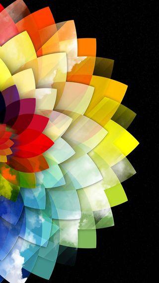 Обои на телефон цвета, красочные, абстрактные