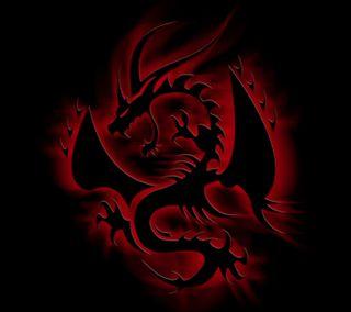 Обои на телефон дрейк, эмблемы, черные, рептилия, огонь, красые, змея, змеевидный, дракон, dragon, black dragon emblem