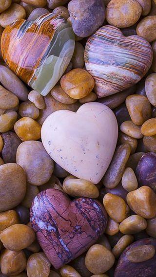 Обои на телефон сердце, любовь, камни, love, hearts of stone, hd, full