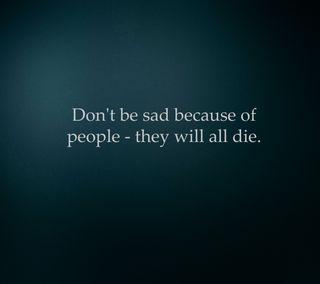 Обои на телефон умри, ненависть, смерть, люди, грустные, будь, misanthropy, hatred, do not be sad