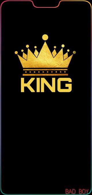 Обои на телефон плохой, король, bad