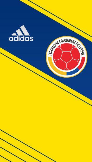 Обои на телефон мундиаль, колумбия, seleccion, camisa 1 colombia