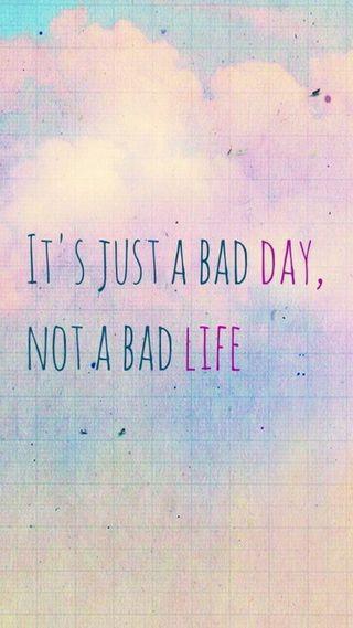 Обои на телефон плохой, жизнь, день, bad