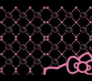 Обои на телефон привет, розовые, приятные, котята