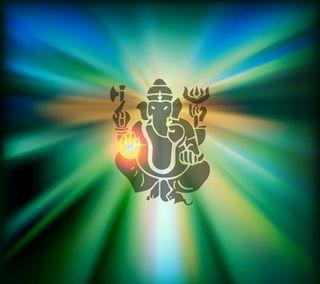 Обои на телефон слон, свет, индийские, ганеша, бог, divine