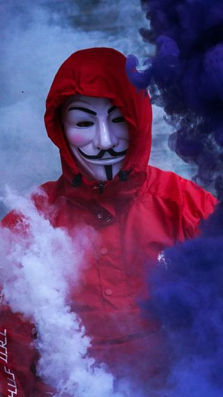 Обои на телефон мортал, маска, zero, mask man