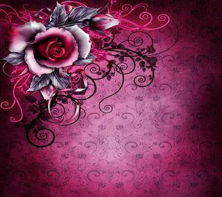 Обои на телефон цветочные, цветы, розы, винтаж