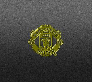 Обои на телефон юнайтед, футбольные, футбол, темные, серые, манчестер, логотипы, золотые