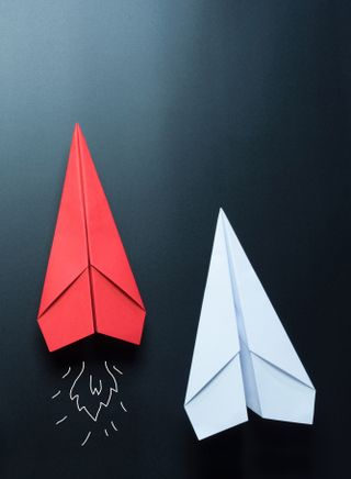 Обои на телефон aerogami, звезда, материал, бумага, самолет, поверхность