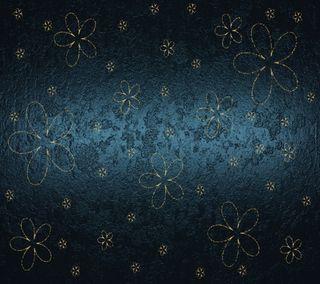 Обои на телефон элегантные, цветы, фон, синие, роскошные, luxury