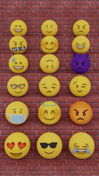 Обои на телефон смайлы, эмоджи, фейсбук, смех, лица, злые, грустные, whatsapp