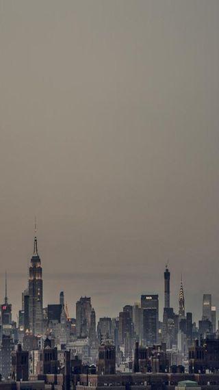Обои на телефон нью йорк, архитектура, город, горизонт, skyline, nyc skyline